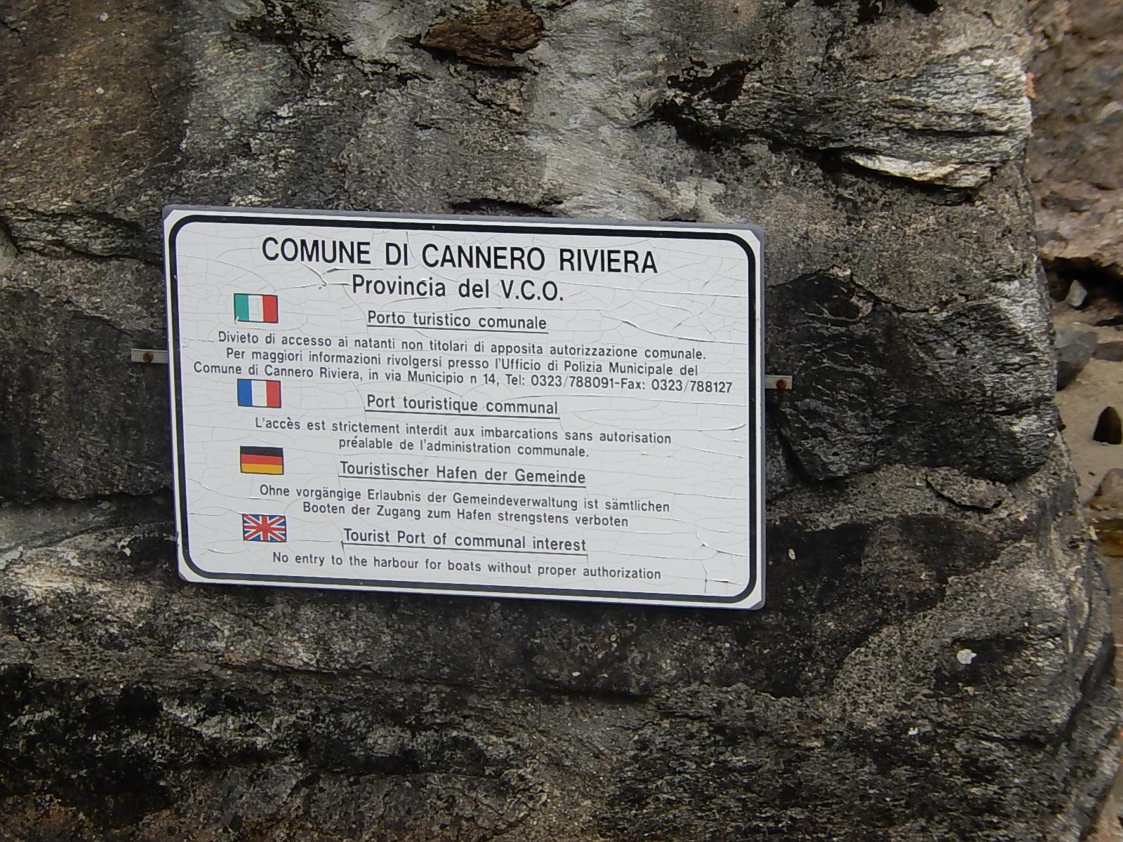 Porto Vecchio Cannero Riviera