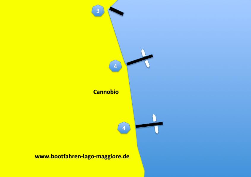 Bootssteg Cannobio