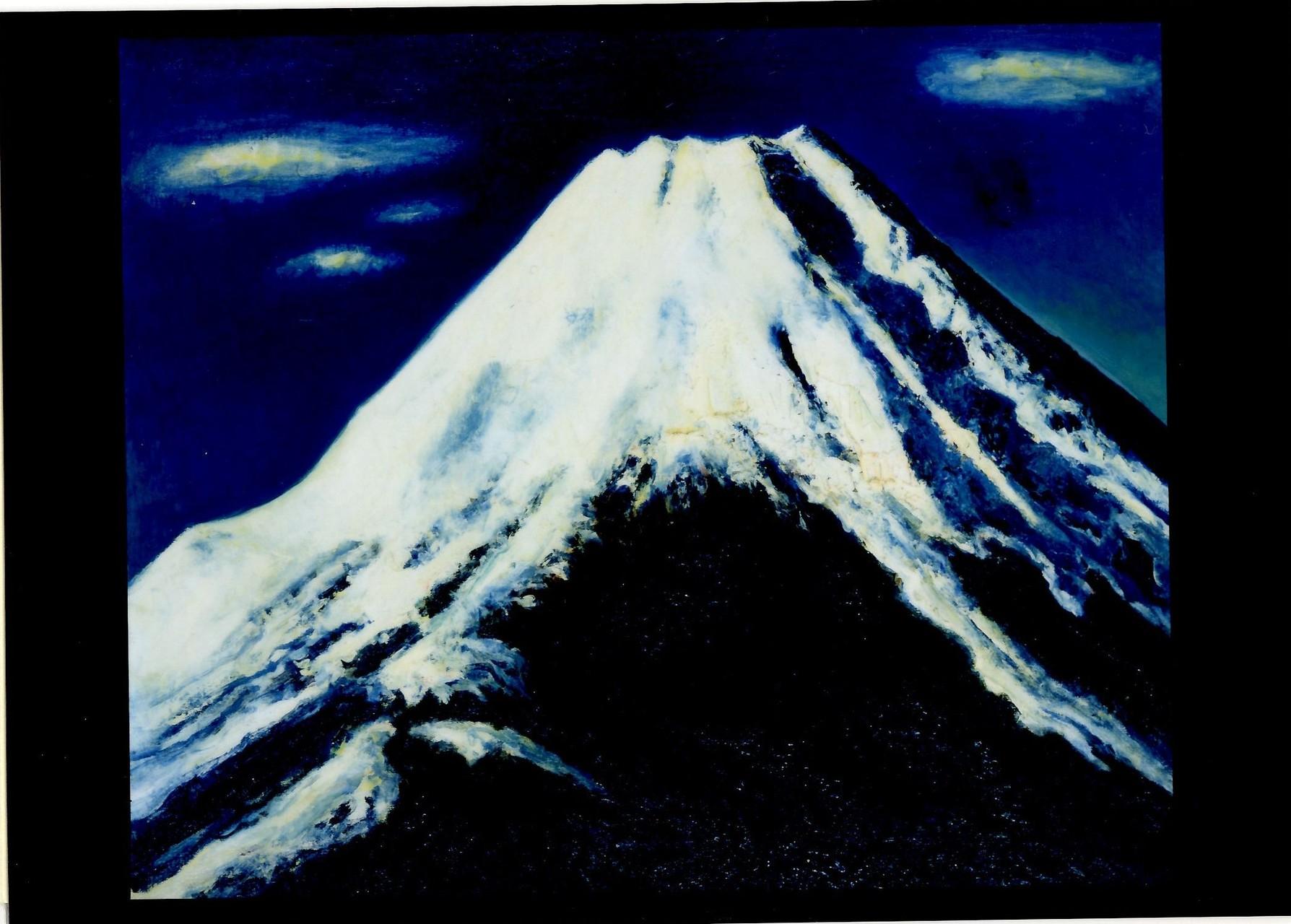 富士図 60.7x72.7