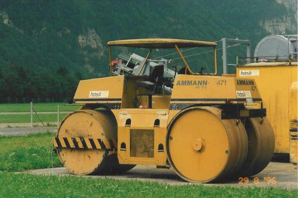 M-471 / Glattwalze statisch Ammann NS-12.5 / 48kW / 12900kg