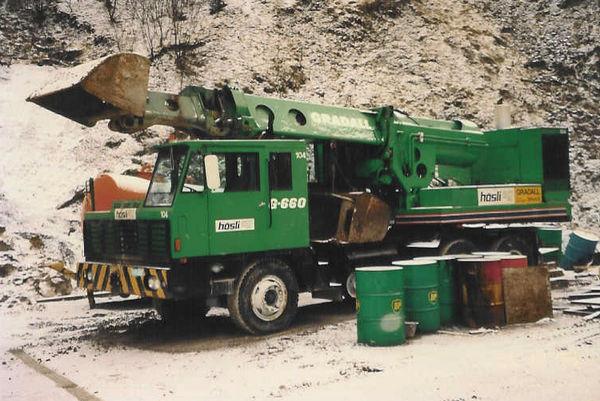 M-143 / Gradall G-660 / 118kW / 23to