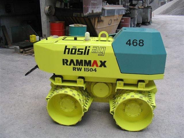 M-468 / Grabenwalze Rammax RW 1504 / 15kW / 1500kg / 2008