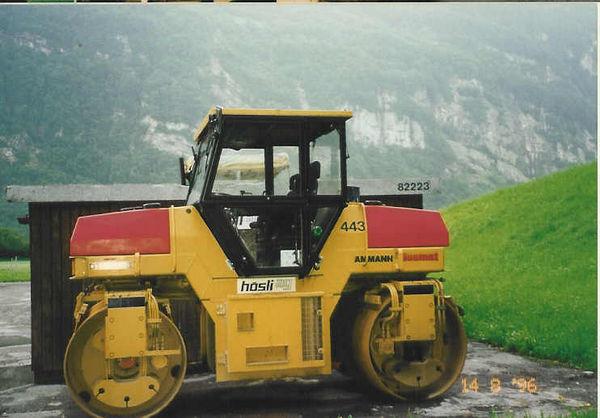 M-443 / Vibro-Glattwalze Ammann DTV 653 / 60kW / 7500kg