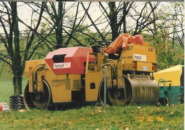 M-447 / Vibro-Glattwalze Ammann DTV 453 / 47kW / 4900kg