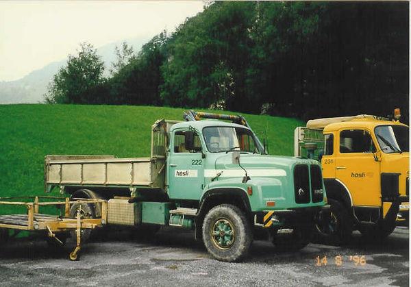 M-222 / Kipper 2-achs / Saurer D 290 BN / 290kW / Euro 0 / 1982