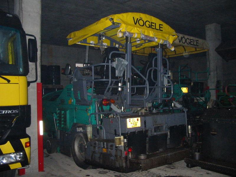 M-332 / Vögele Super 1203 / 77kW / Einbaubreite 1.70 - 3.15m