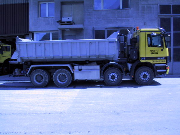 M-245 / Hakengerät 4-achs / Mercedes Actros 4148 / 476kW / Euro 3 / 2001