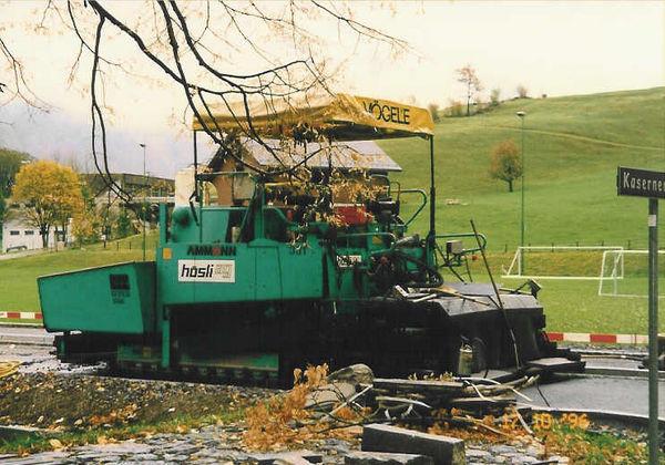 M-331 / Vögele Super 1800 / 165kW / Einbaubreite bis 7.50m