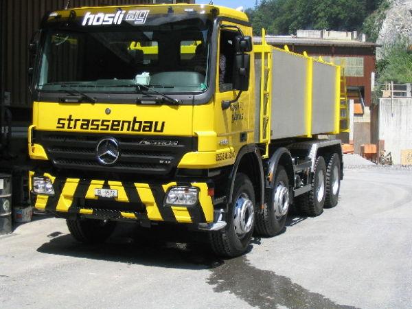 M-241 / Wechselsystem 4-achs / Mercedes Actros 4150 8x4/4 / 500kW / Euro 3 / 2005