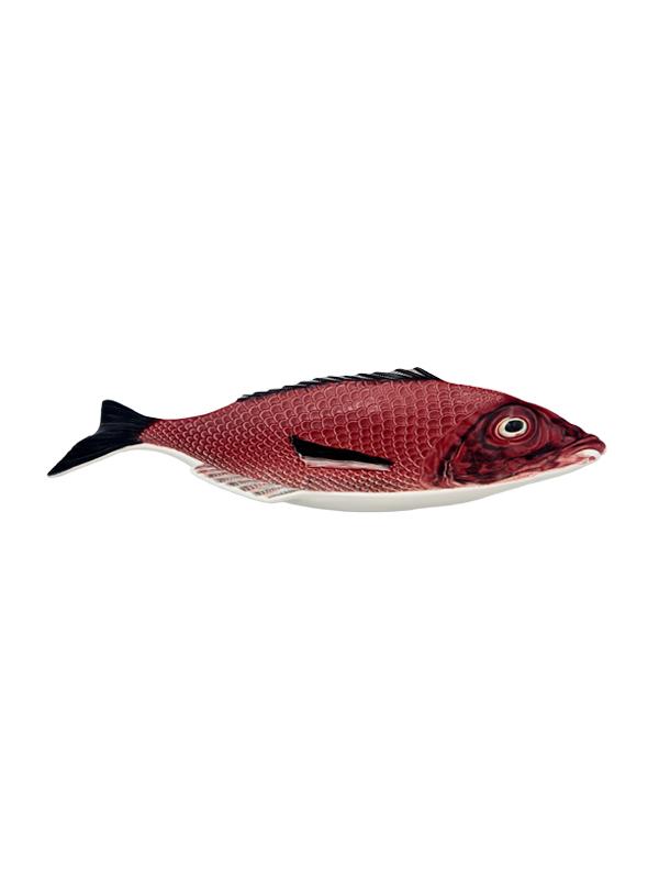 Fischplatte Keramik 42cm