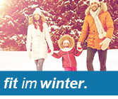 fit im Winter