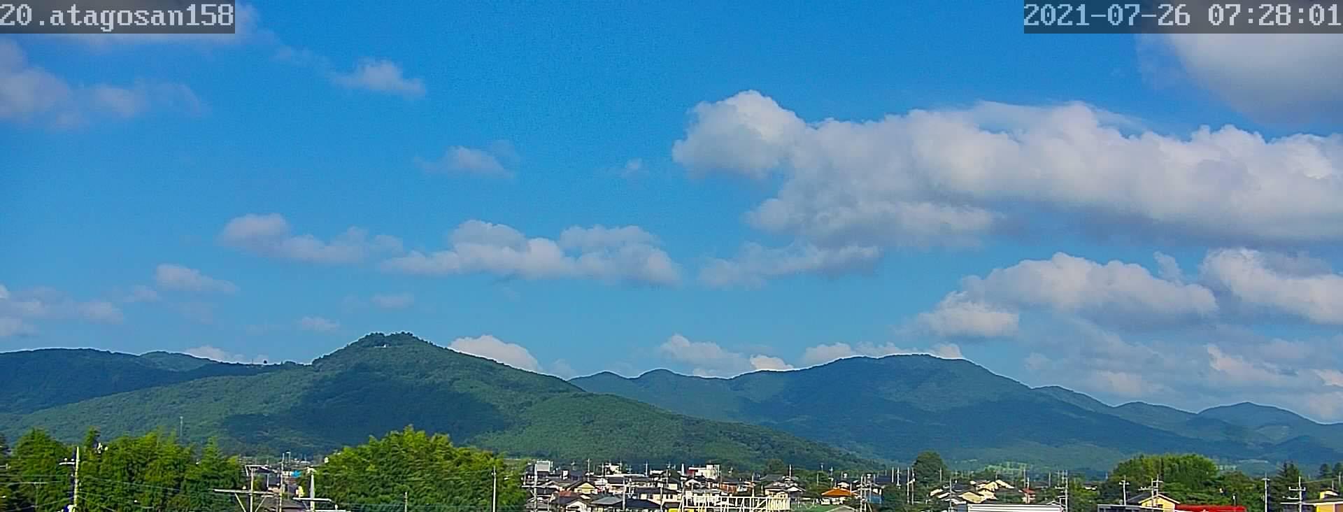 7月26日 天気の変わり目 79日目