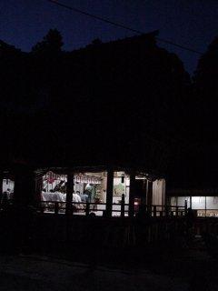 夜の節分祭