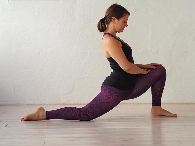 Yin Yoga in der Schwangerschaft - Der Drache I - Mama Yoga Blog MOMazing.