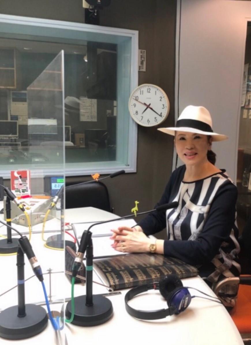 「松浦百美子の今夜も聴かせて」ラジオで冠番組が始まりました!