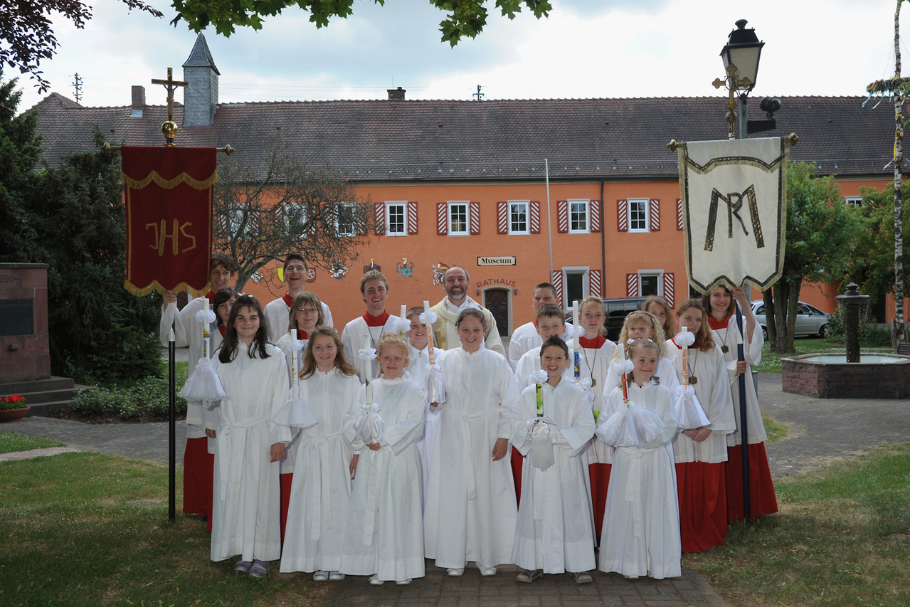 Erstkommunion am 15. Mai 2011