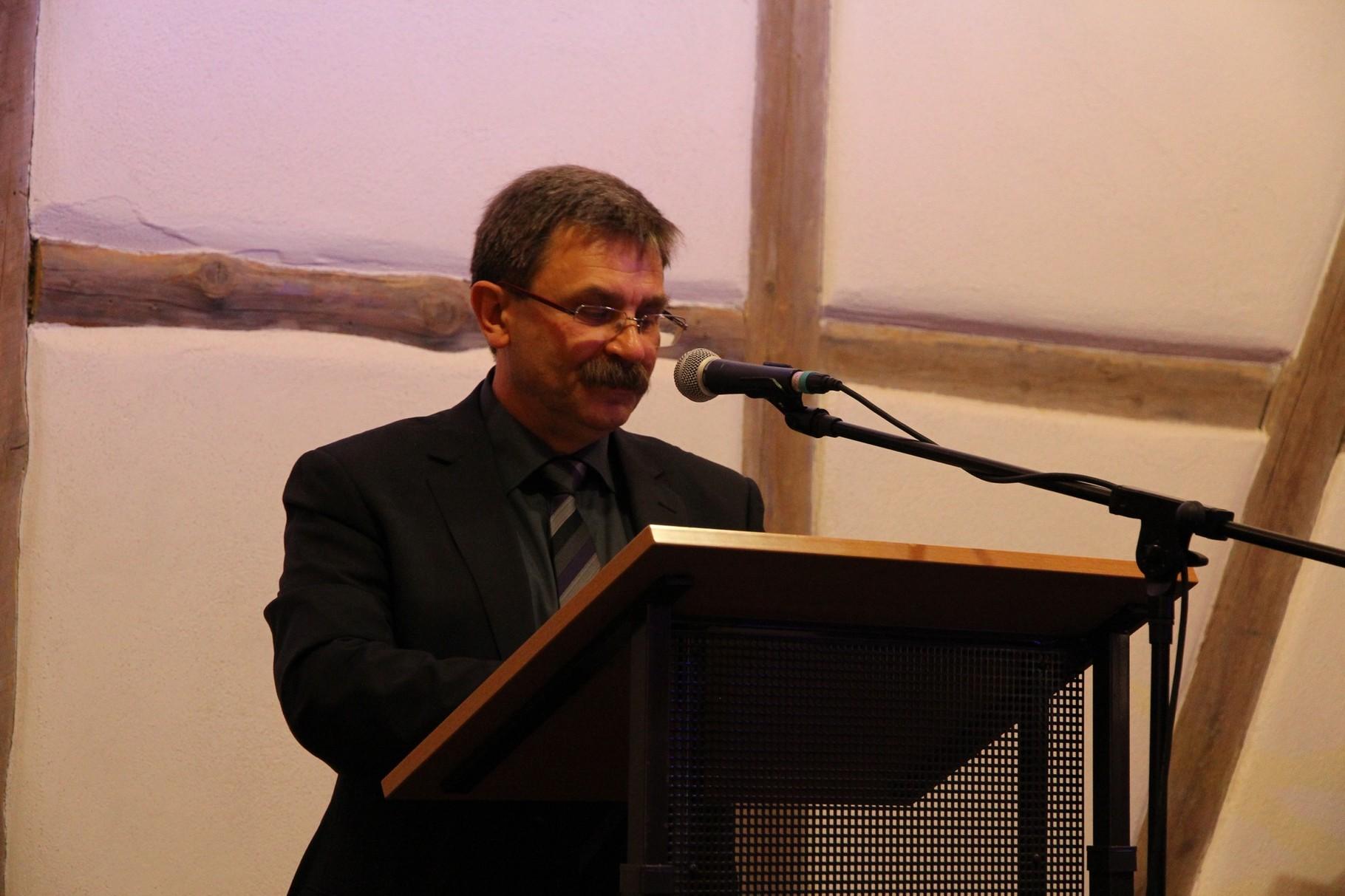 Ortsvorsteher Reinhold Rapp