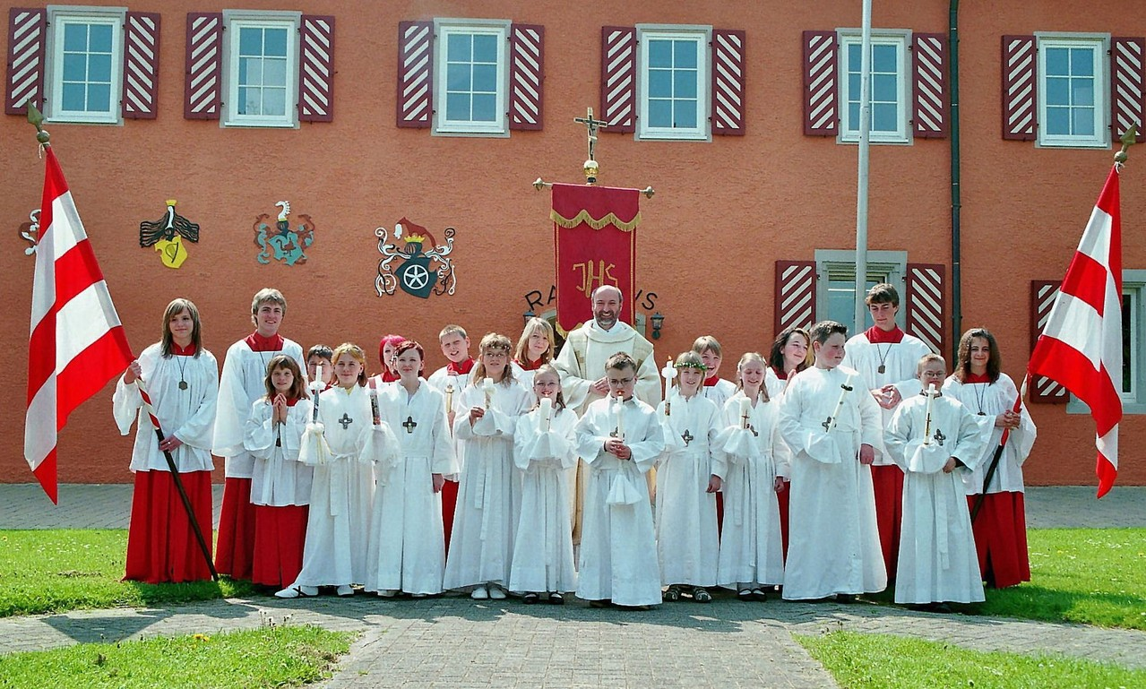 Erstkommunion am 3. Mai 2009