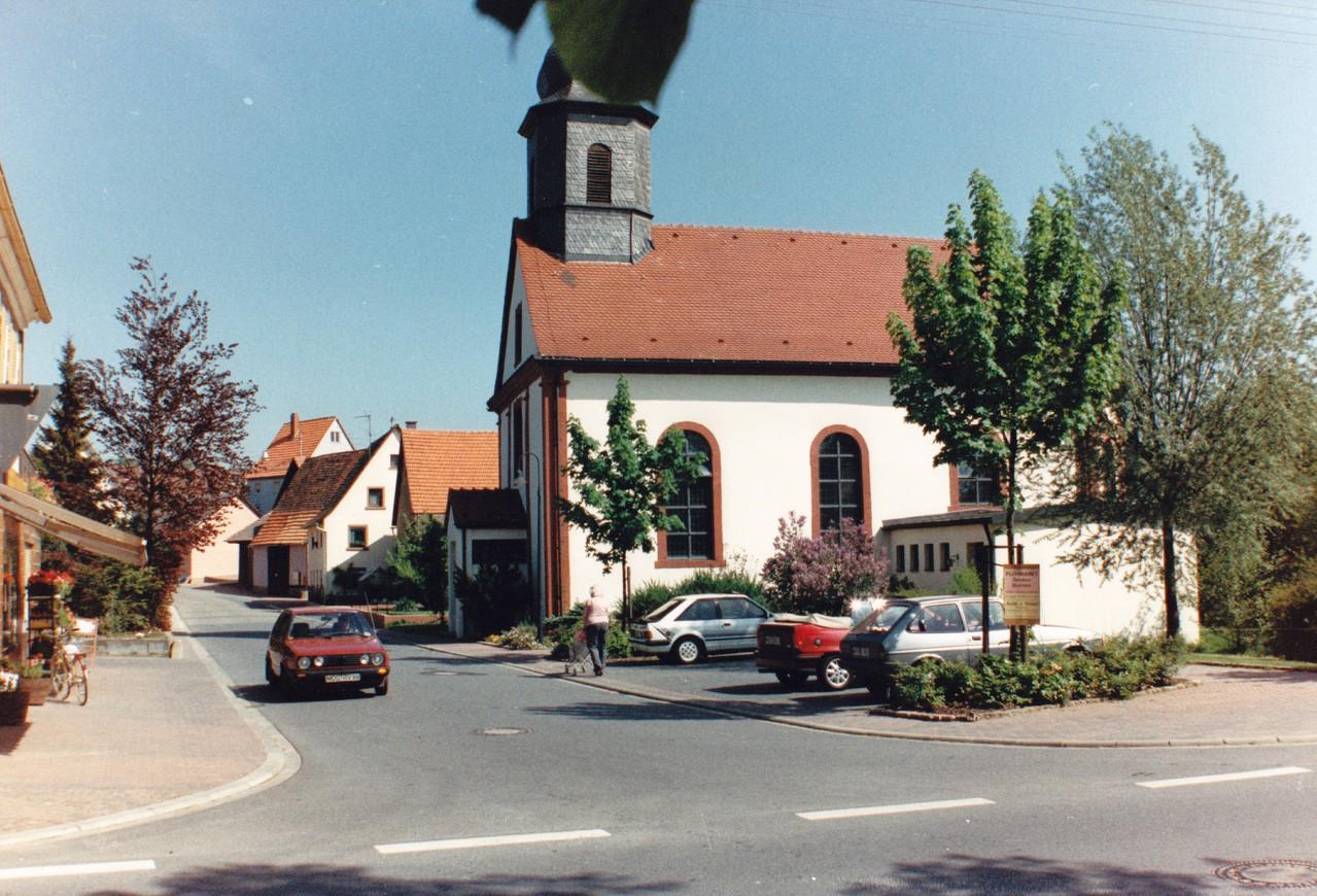 Kirche (vor dem Anbau) 1997 (Foto: Dieter Hofmann)