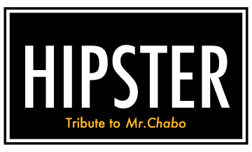HIPSTER Tribute to Mr.Chabo_帯広_ロゴマーク