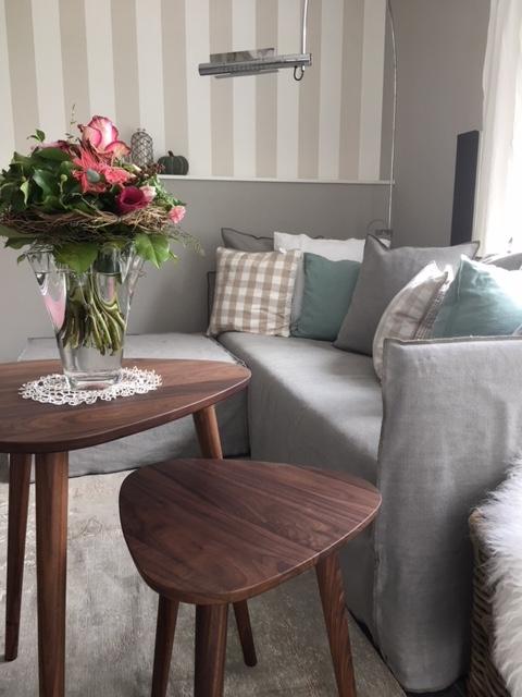die neue einladende Sitzecke, Sofa und Tisch von Gervasoni
