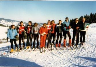 Skilehrer um ca. 1980