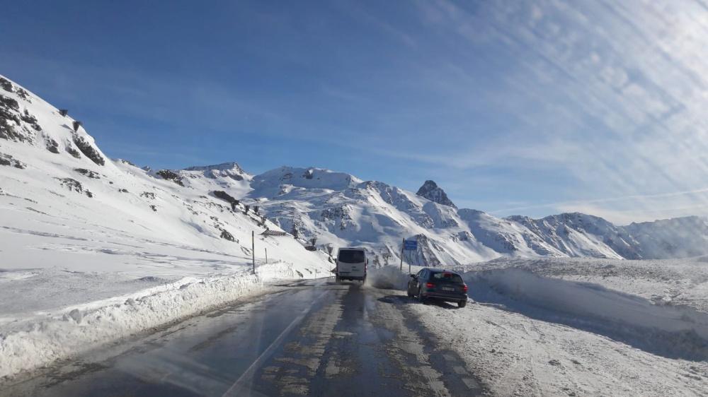 Über den Berninapass
