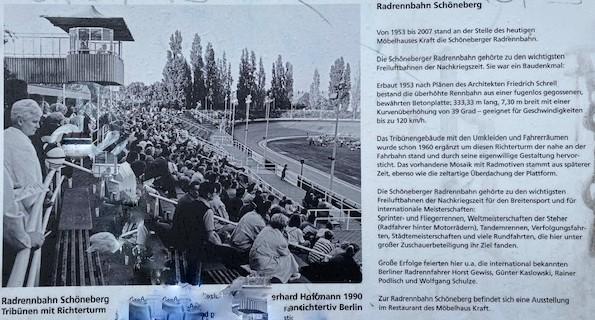 Information zur Radrennbahn