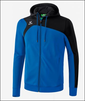 Trainingsjacke mit Kapuze