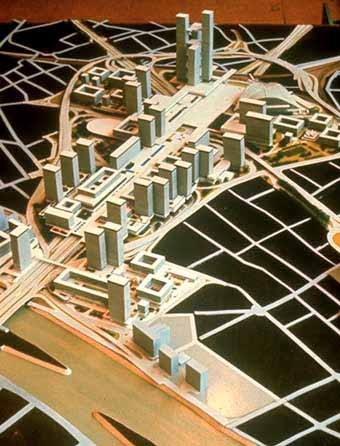 Plan de la Défense 1964