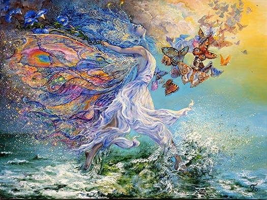 """""""La joie de Vivre"""", Josephine Wall"""
