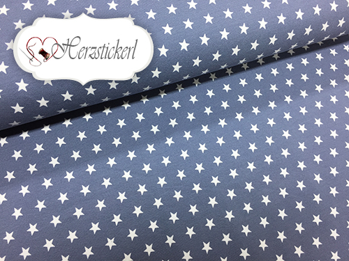 Sterne / Graublau