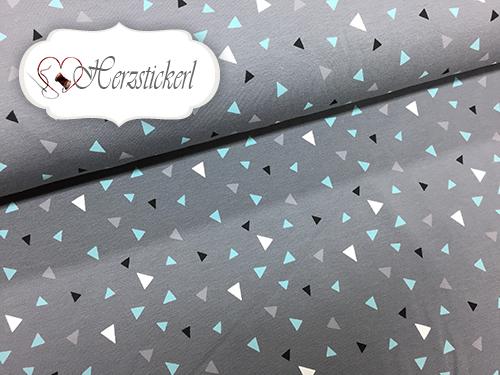 Dreiecke/ Grau