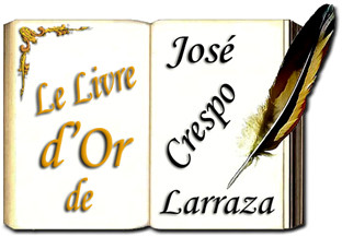 Livre d'or de José Crespo Larraza