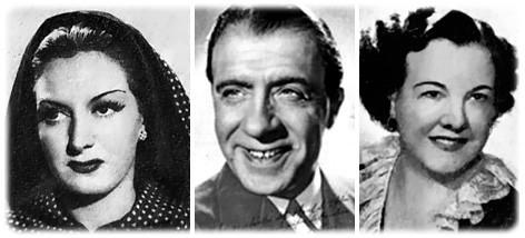 De gauche à droite : Marta Santa Olalla, Miguel Ligero et Sélica Pérez Carpio
