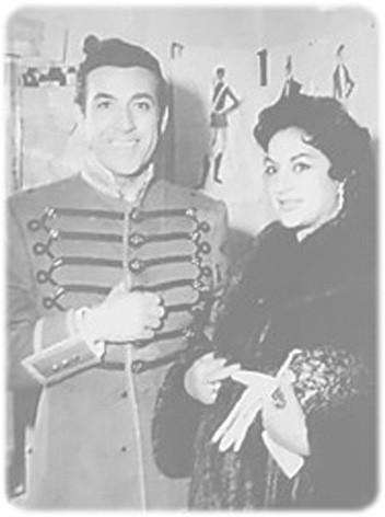 Luis Mariano et Lola Flores