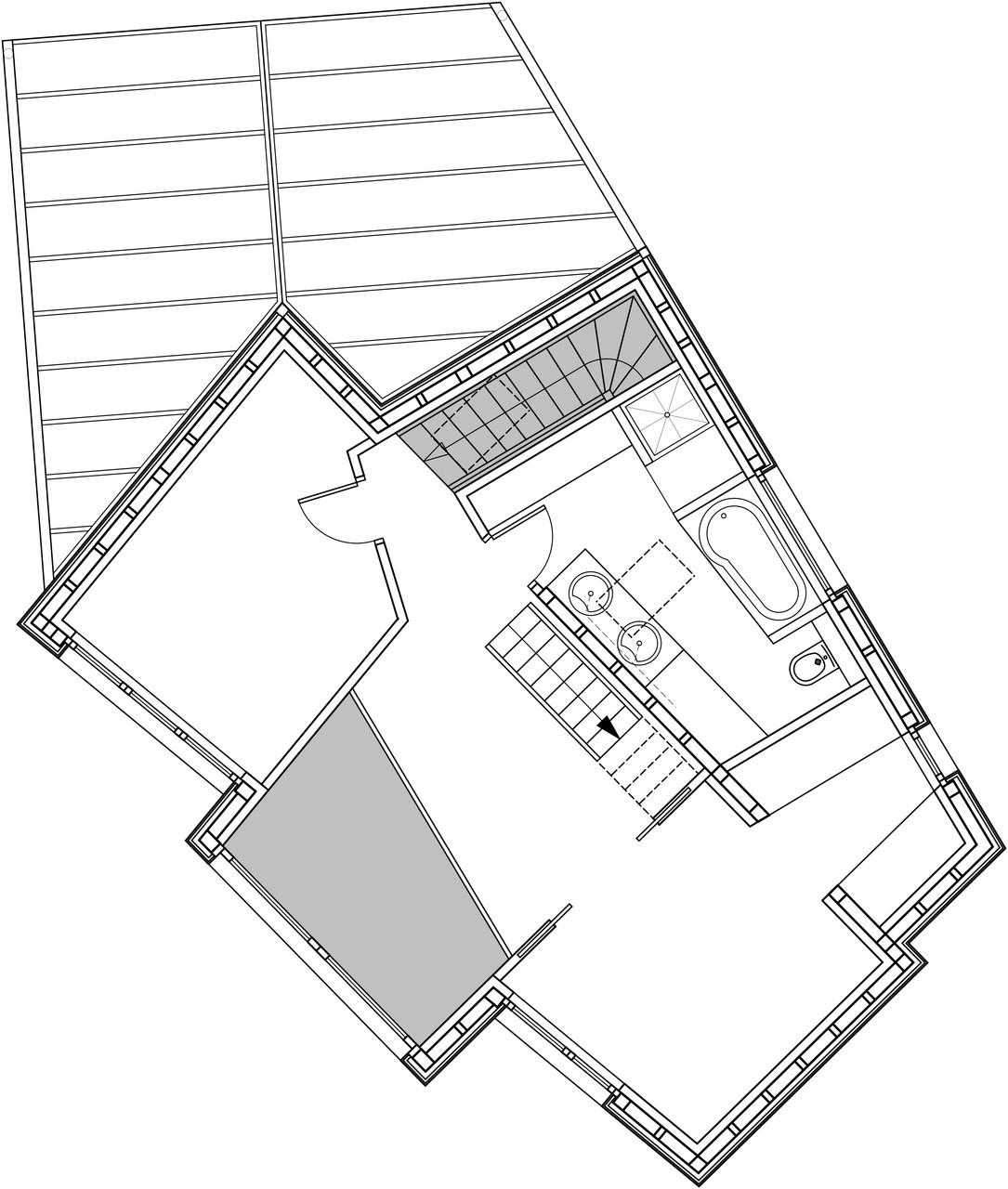 Plan étage 1