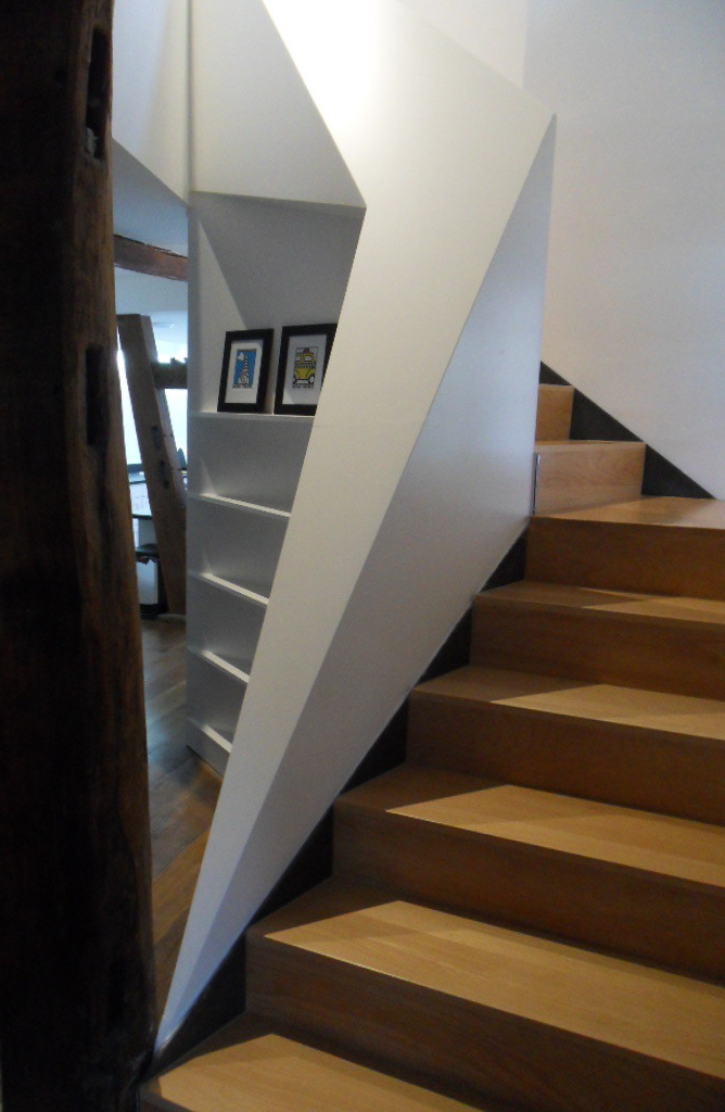 Nouvel escalier vers l'étage