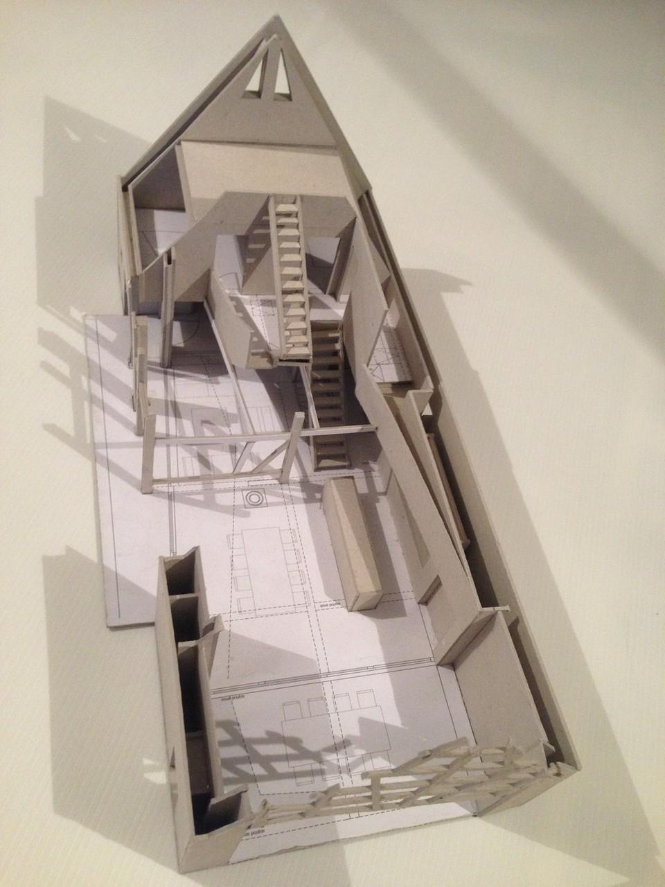 Maquette d'étude du projet