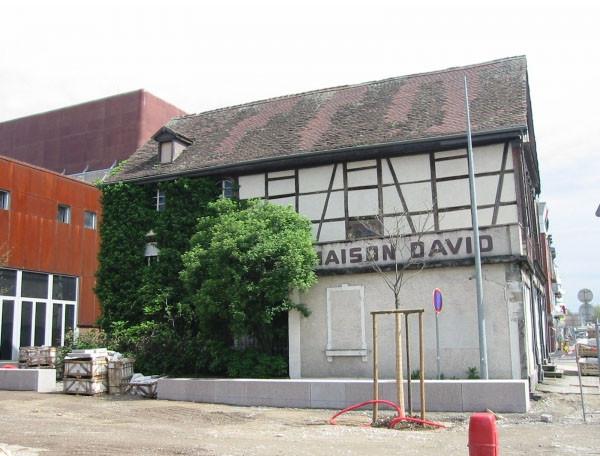 Maison David avant transformation en café littéraire