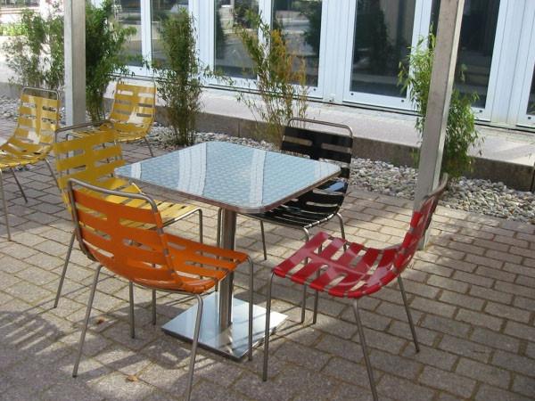 Mobilier pour terrasse extérieure