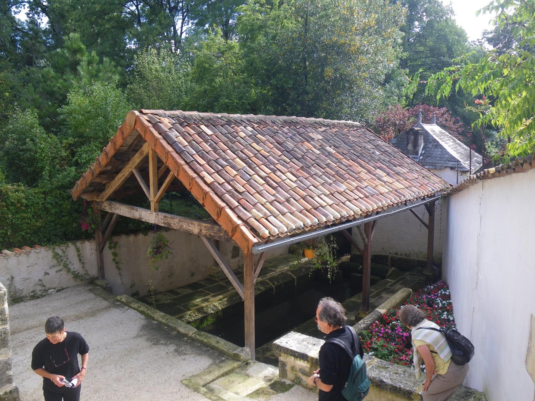 Le lavoir restauré de Javrezac
