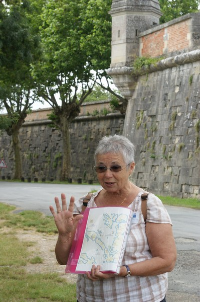 Jacqueline, notre guide pour la journée