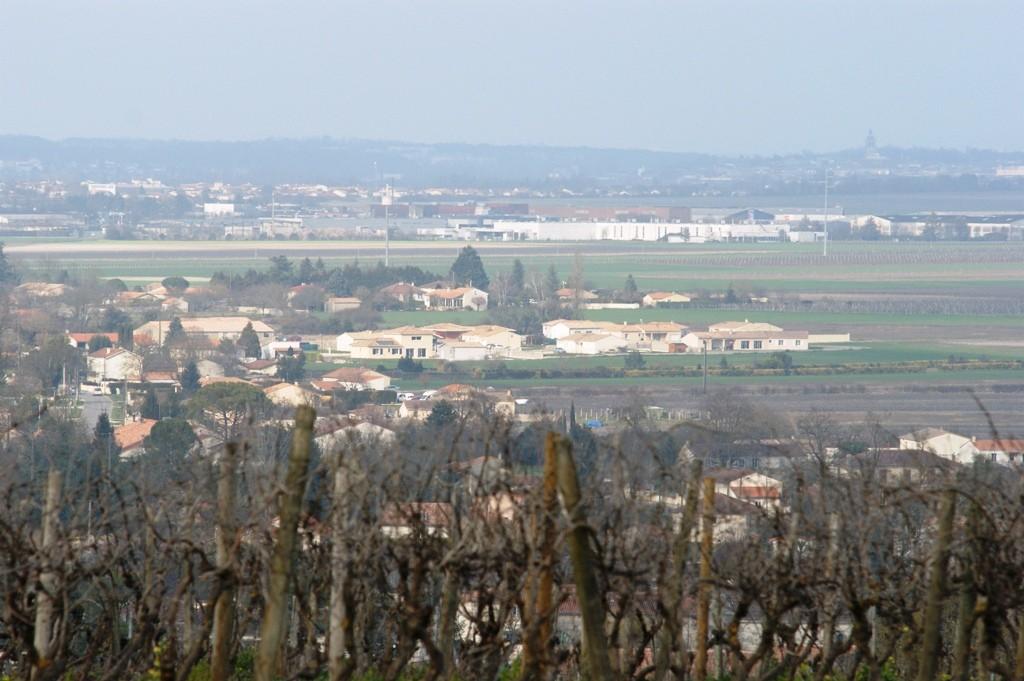 Vue sur la ville de Cognac