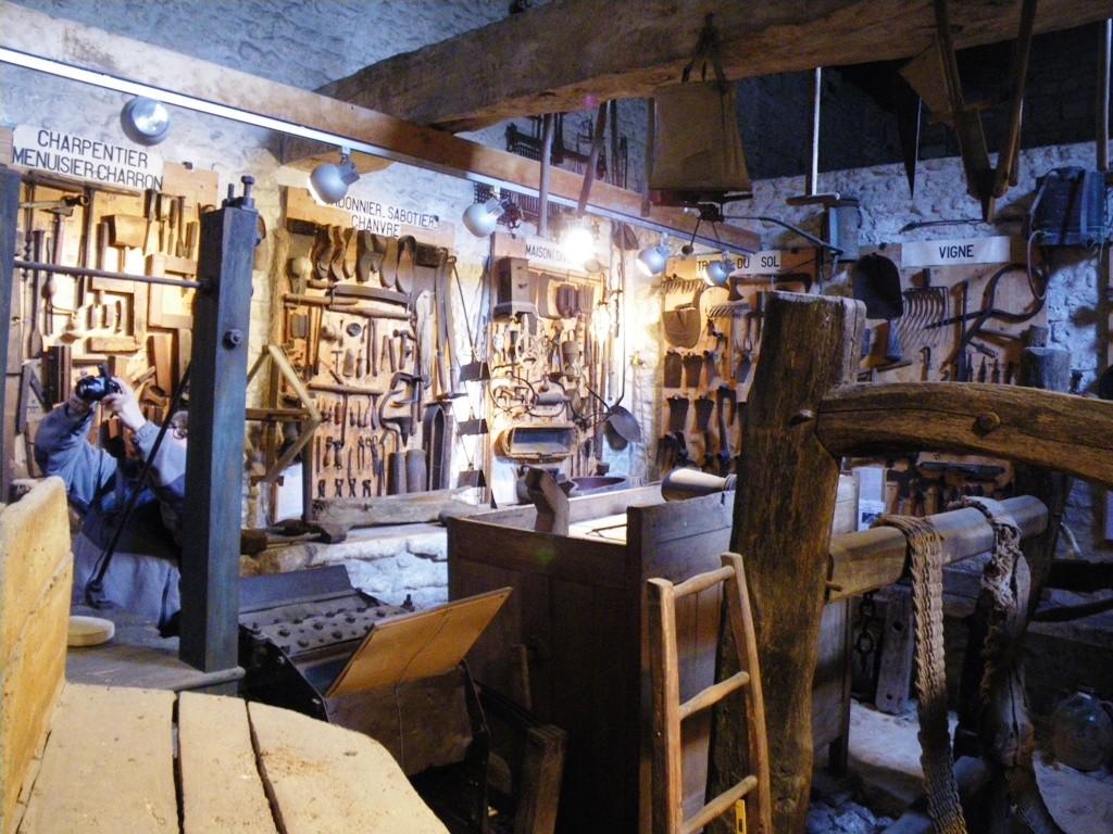 Les outils sont classés par métier