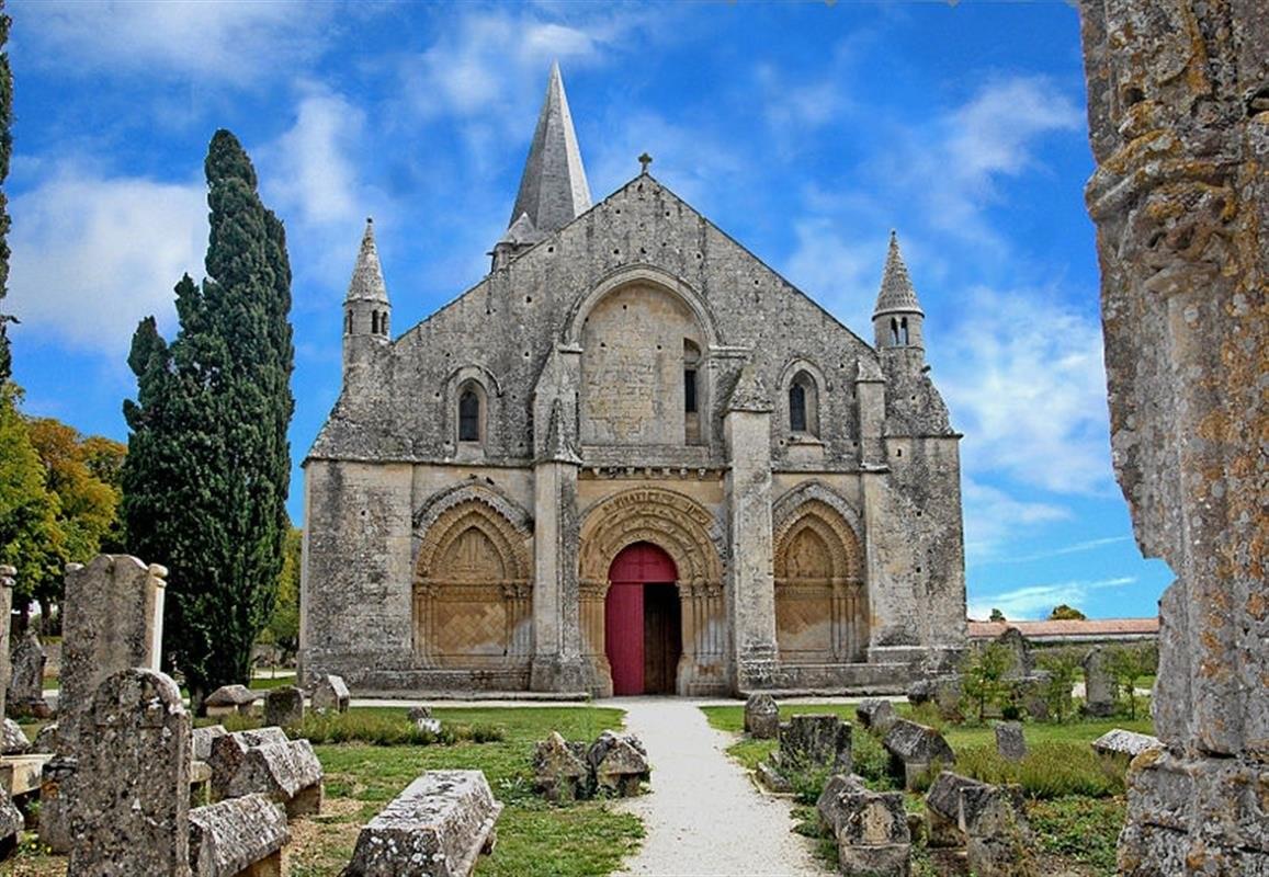Église Saint Piere d'Aulnay