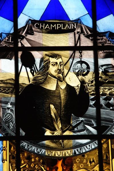 évocation de Samuel champlain