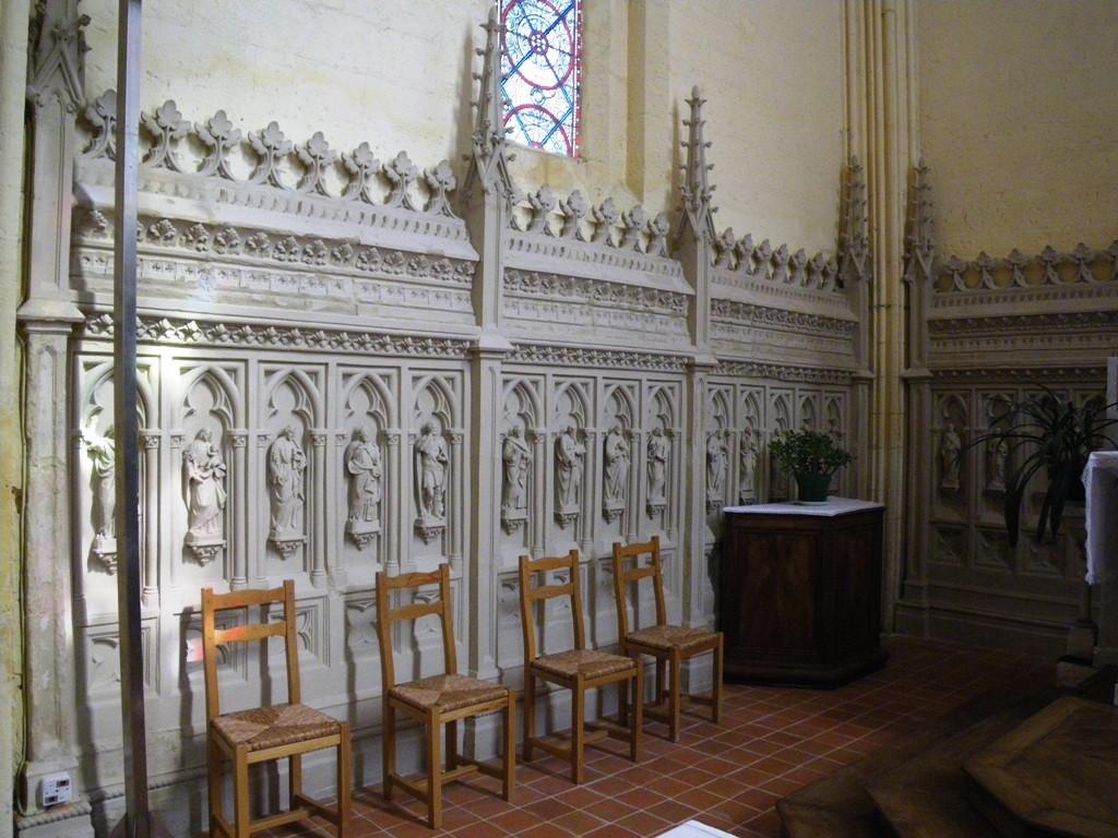 Le choeur de l'église de Salles d'Angles