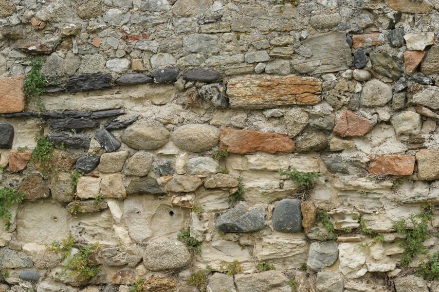 les murs en pierre de lest