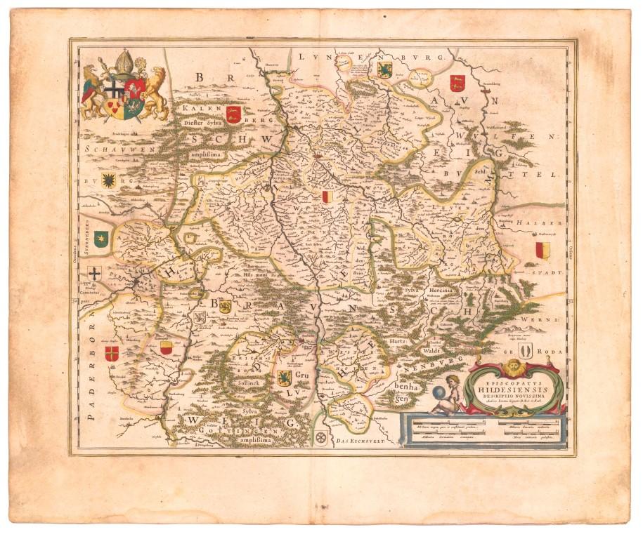Karte Bistum Hildesheim